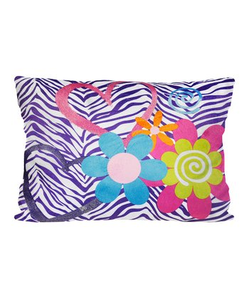 Zebra Love Pillow