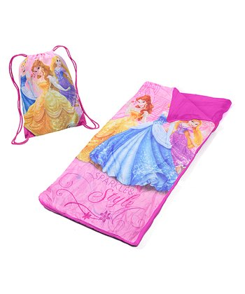 Princess Sleeping Sack & Drawstring Bag