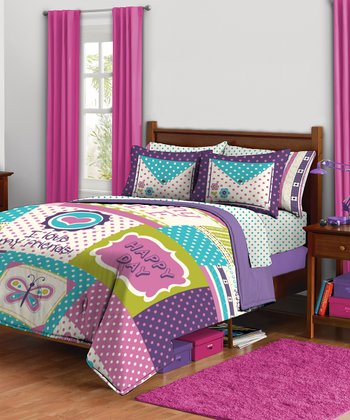 Happy Days Comforter Set