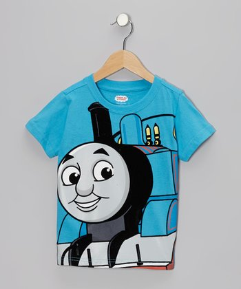 Turquoise Thomas Tee - Toddler