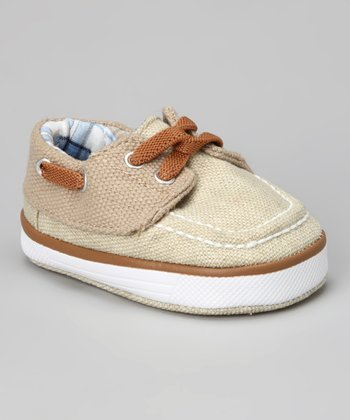 Tan Deck Lil' Harbor Sneaker