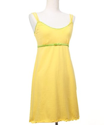 Banana Crème Emily Nursing Dress
