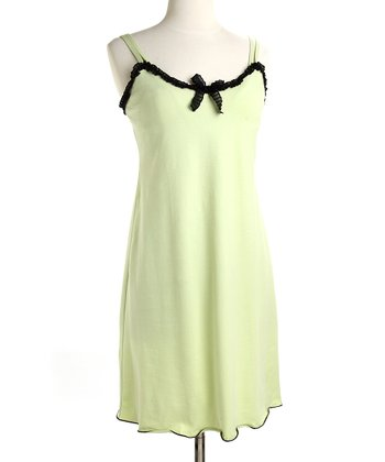 Lime Ice & Black Madison Nursing Dress