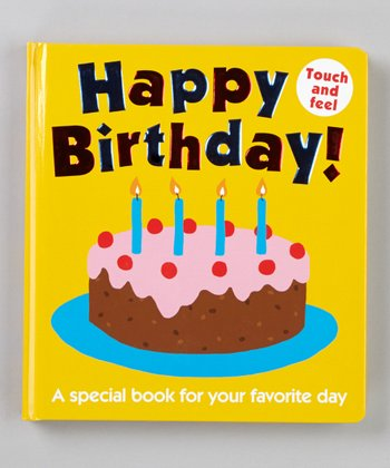 Happy Birthday Board Book