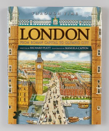 London: Through Time Hardcover