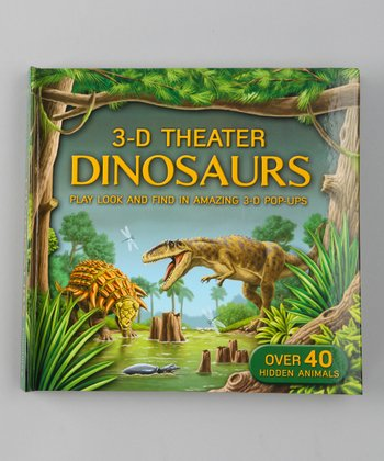3-D Theater: Dinosaurs Pop-Up Hardcover