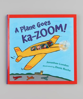 A Plane Goes Ka-Zoom! Hardcover