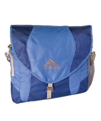 Blue Messenger Diaper Bag