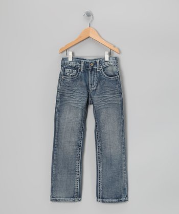 Blue Trimble Jeans - Boys