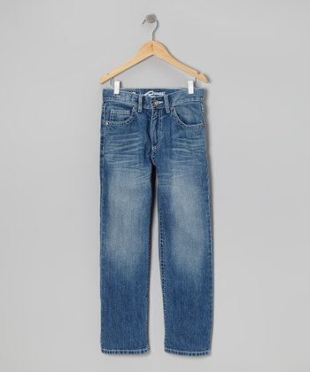 Light Wash Trimble Jeans - Boys