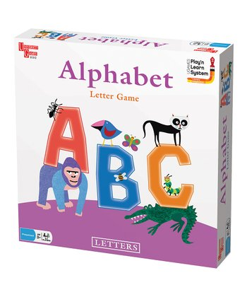 Alphabet Letter Board Game