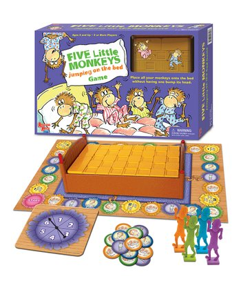 Five Little Monkeys Jumping on the Bed Board Game