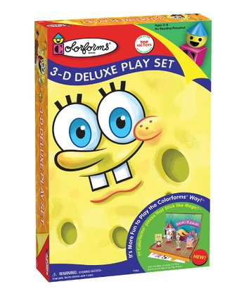 SpongeBob SquarePants 3-D Deluxe Play Set