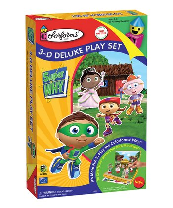 Super WHY! 3-D Deluxe Play Set