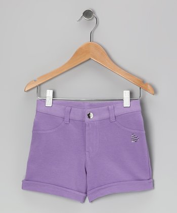 Lilac Shorts - Girls