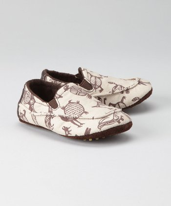 Brown Animals Shoe