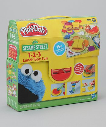Sesame Street 1-2-3 Lunch Box Play-Doh Set