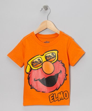 Orange Elmo Sunglasses Tee - Toddler