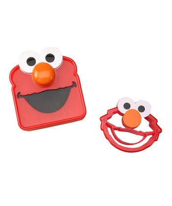 Elmo Sandwich Saver & Crust Cutter