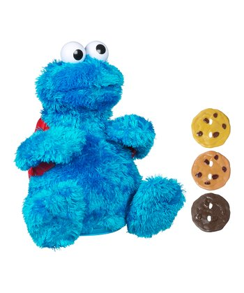 Count 'n' Crunch Cookie Monster Talking Plush Toy Set
