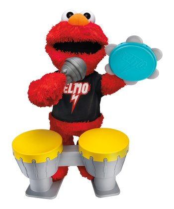 Let's Rock Elmo Talking Plush Toy Set