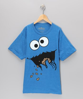 Blue Cookie Monster Short-Sleeve Tee - Kids