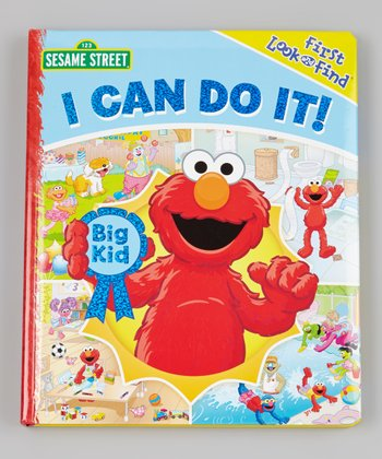 First Look-And-Find: I Can Do It! Padded Board Book