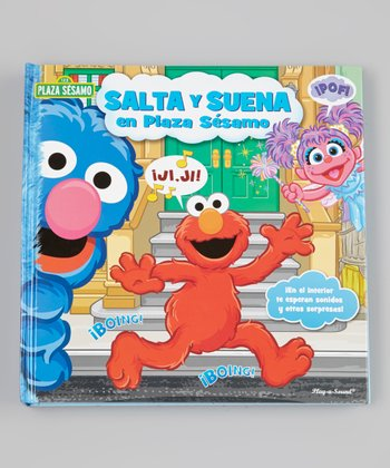 Deluxe Sesame Street Sound Spanish Pop-Up Hardcover