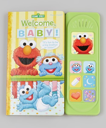 Sesame Street: Welcome, Baby! Sound Board Book
