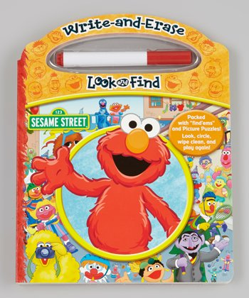 Write and Erase: Look and Find Sesame Street Board Book Set