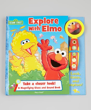 Explore With Elmo Board Book & Magnifying Glass
