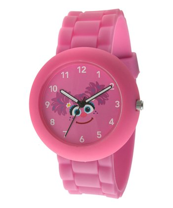 Pink Round Abby Watch