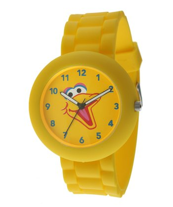 Yellow Round Big Bird Watch