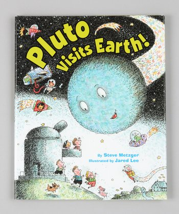 Pluto Visits Earth! Hardcover