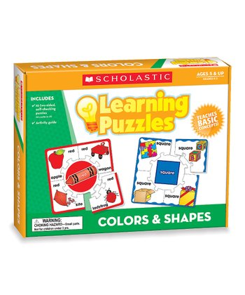 Colors & Shapes Learning Puzzle Set