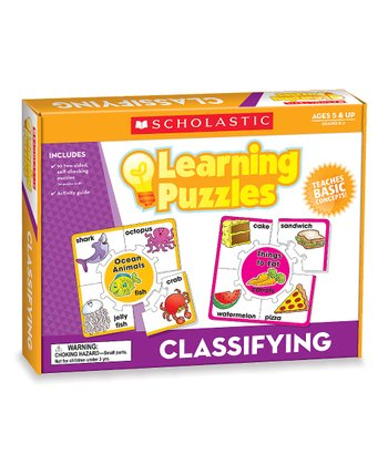 Classifying Learning Puzzle Set