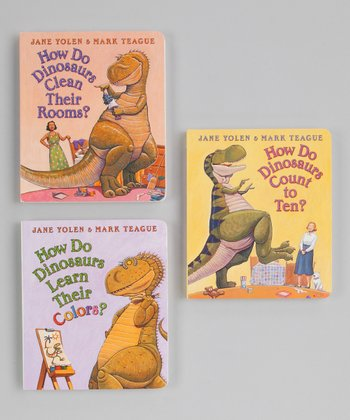 How Do Dinosaurs Board Book Set