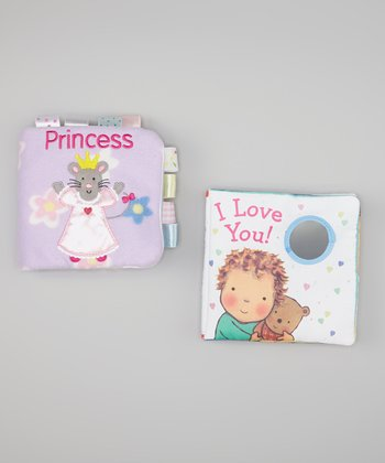 I Love You! & Princess Cloth Book Set