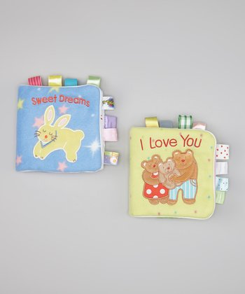 I Love You & Sweet Dreams Cloth Book Set