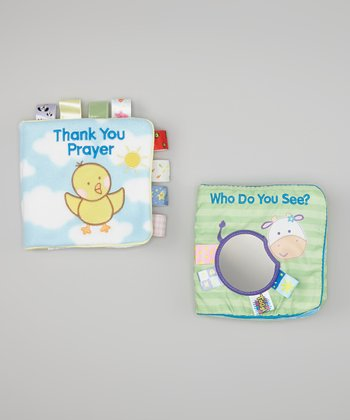 The Thank You Prayer & Who Do You See? Cloth Book Set
