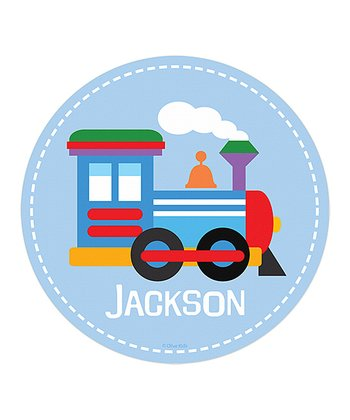 Train Personalized Fabric WallDotz Decal