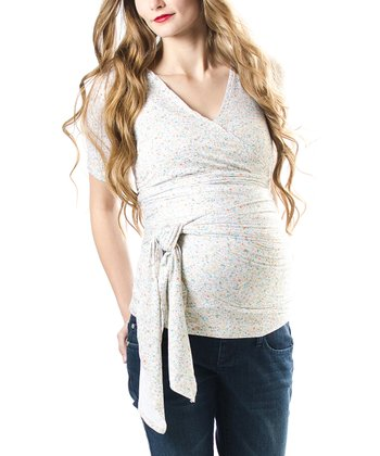 Ditzy Bella Maternity Top
