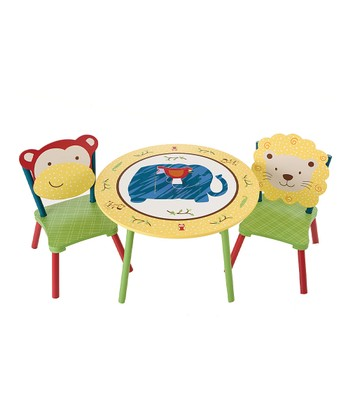 Jungle Jingle Table & Chairs Set