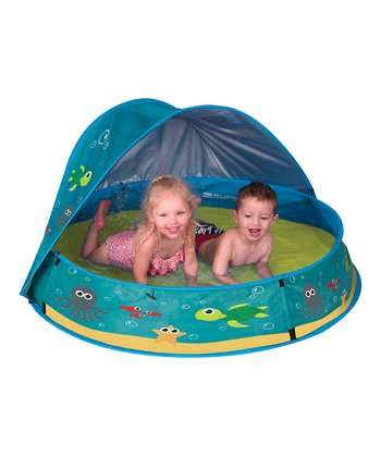 Sea Creature Pop-Up Pool & Shade