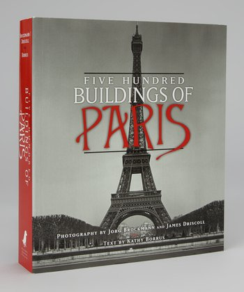 500 Buildings of Paris Paperback