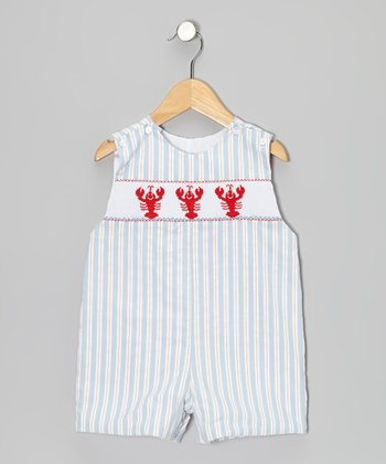 Light Blue Stripe Lobster John Johns - Toddler