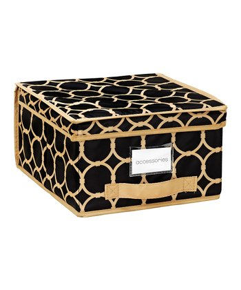 Black & Tan Hula Medium Storage Box