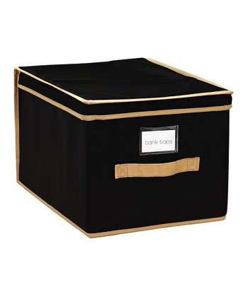 Black Large Storage Box