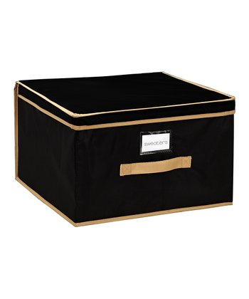 Black Jumbo Storage Box