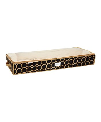 Black & Tan Hula Under-Bed Storage Bag